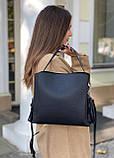 Женская кожаная сумка polina&eiterou, фото 2