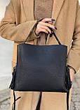 Женская кожаная сумка polina&eiterou, фото 4