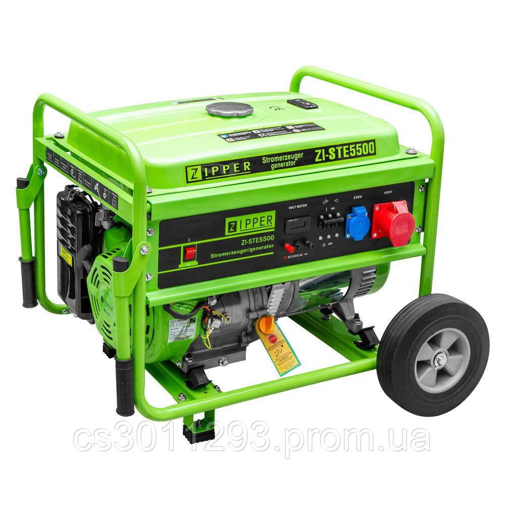 Бензиновый генератор Zipper ZI-STE5500
