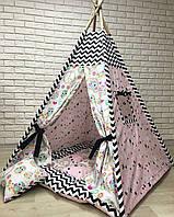 Вигвам детская игровая палатка «Сова в домике»