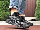 Adidas Performance мужские демисезонные черные  кроссовки на шнурках, фото 3
