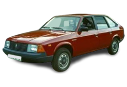 Коврик в багажник для АЗЛК МОСКВИЧ 2141 1986-2002