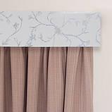 Лента декоративная на карниз, бленда Сакура 352 Бордо 70 мм на усиленный потолочный карниз КСМ, фото 5