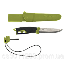 Нож Morakniv Companion Spark (S) Green, нержавеющая сталь (13570)