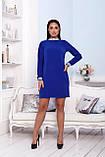 Нарядное платье женское Креп костюмка Размер 48 50 52 Разные цвета, фото 5