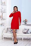 Нарядное платье женское Креп костюмка Размер 48 50 52 Разные цвета, фото 3
