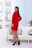 Нарядное платье женское Креп костюмка Размер 48 50 52 Разные цвета, фото 7