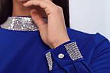 Нарядное платье женское Креп костюмка Размер 48 50 52 Разные цвета, фото 6