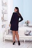 Нарядное платье женское Креп костюмка Размер 48 50 52 Разные цвета, фото 9