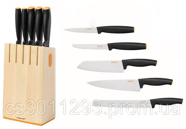 Набор ножей Fiskars Functional Form из 6 предметов (1014211), фото 2
