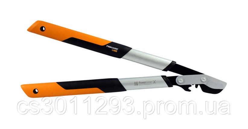 Сучкорез Fiskars PowerGearX S обводной 112260 (1020186), фото 2