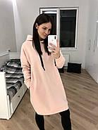 Тепле видовжене плаття-худі Orli, фото 3