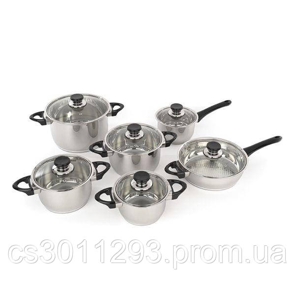 Набір посуду BergHOFF Vision Premium з 12 предметів (1112105)