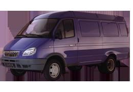 Коврик в багажник для ГАЗ (GAZ) Газель 2705 (фургон) 1996+