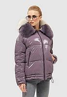 Куртка женская зимняя короткая с мехом Mila Nova .