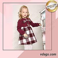 Детское тёплое платье для девочки
