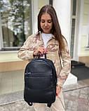 Женский рюкзак david jones из эко-кожи черный, фото 2