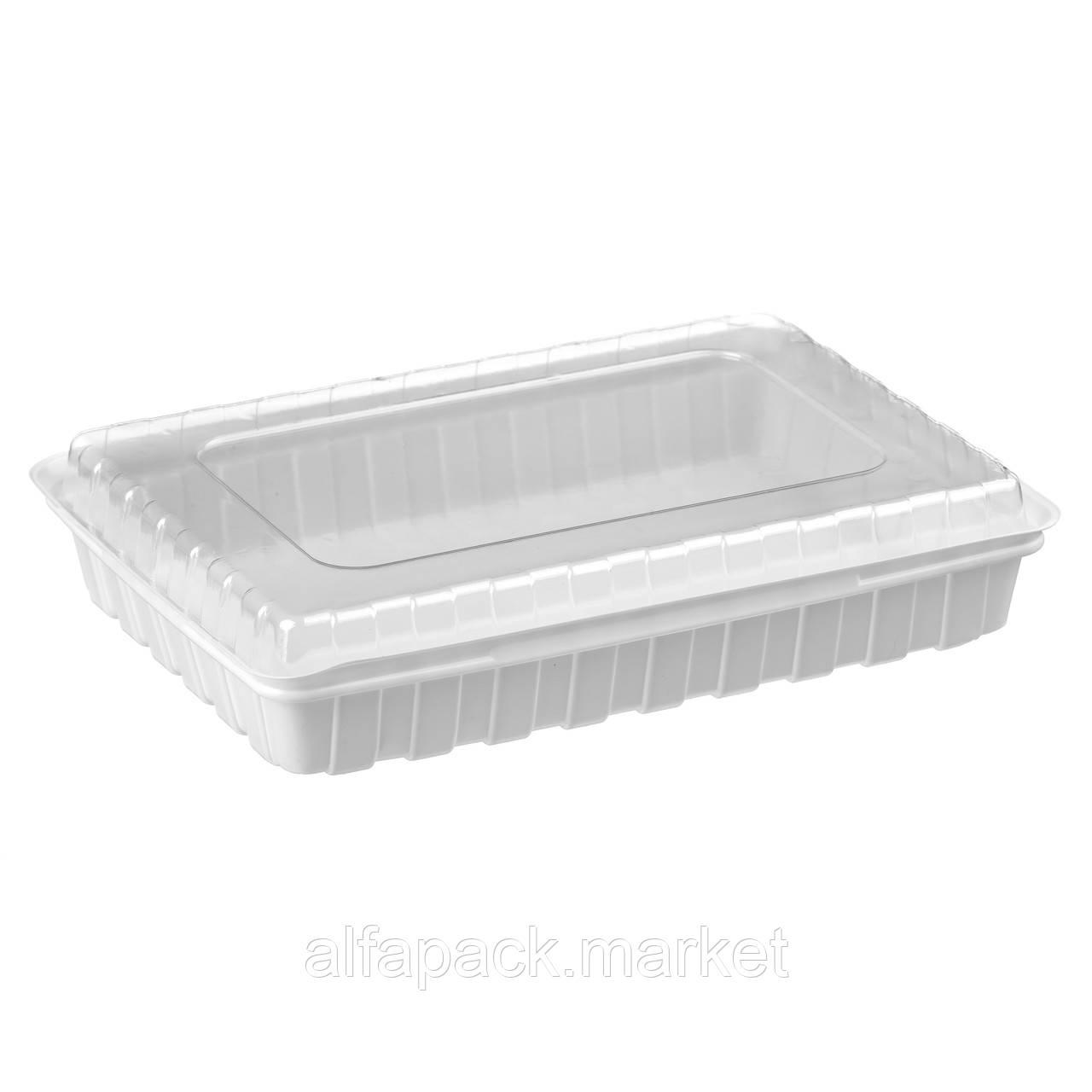 ПС-61 Блистерная упаковка для суши, 278*195*40 (180 шт в упаковке) 010100133