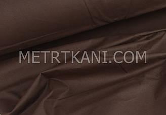 Однотонная польская бязь шоколадного цвета 135 г/м2  №1755