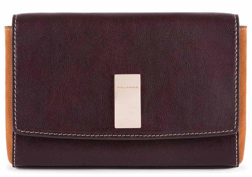 Женская сумка из натуральной кожи Piquadro Dafne бордовая