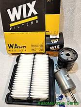 Набор для ТО Авео, Вида фильтров воздушный масляный топливный WIX