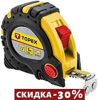 Рулетка Topex - 5 м х 25 мм, супер-магнит