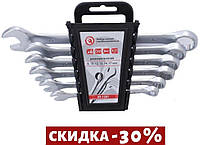 Набор рожково-накидных ключей Intertool - 6 шт. (8-17 мм) Storm