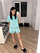 Молодежная плюшевая пижама шортики и футболка TM Orli, фото 2
