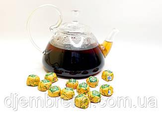 Чай элитный прессованный черный, Шу Пуэр Мини Точа с жасмином, 5-7 г