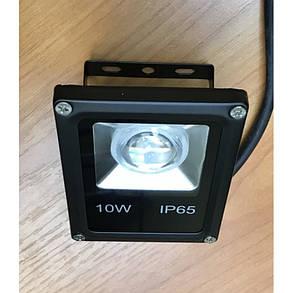 Світлодіодний лінзований фітопрожектор SL-10GLens 10W IP65 (full fito spectrum led) Код.59096, фото 2