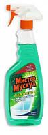 """Засіб д/скла """"Містер Мускул"""" 500мл (розпил.) Зелений/12"""