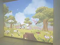 """Интерактивная стена """"Живые рисунки"""""""
