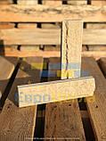 Фасадная плитка желтая, размер 250Х20Х65мм, фото 6
