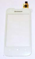 Оригинальный тачскрин / сенсор (сенсорное стекло) для Lenovo A66 (белый цвет)