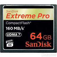 Flash карта Compact Flash CF 64GB SanDisk SDCFXPS-064G-X46