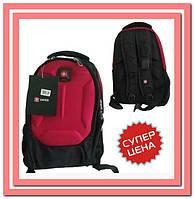 Модный, оригинальный, стильный,  рюкзак, мешок, сумка, черный|красный цвета, Swissgear Wenger