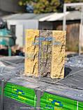 Фасадная плитка серая, размер 200х65х20мм, фото 5