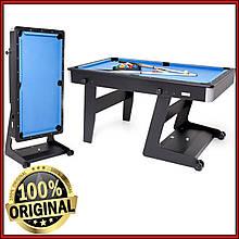 Складаний більярдний стіл дитячий Ostin 5 футів для гри в Американський пул