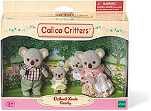 Набор Фигурок Сильвания Фемели Семья Коалы Calico Critters Outback Koala Family