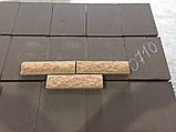 Фасадная плитка коричневая, размер 200х65х20мм, фото 3