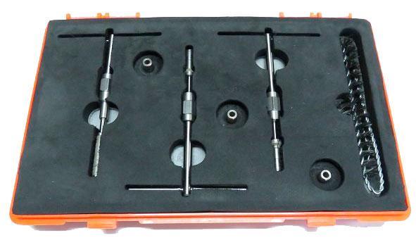 Алмазные притиры и развёртки для восстановления посадочного места клапана форсунок Bosch и Detroit — dl-uis502