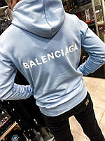 Худи Balenciaga с капюшоном|Худи Баленсиага мужской женский теплый|Свитшот Баленсиага осенний