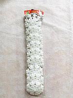 Игрушка новогодняя снежинка двойная большая 3D 10 штук, фото 1
