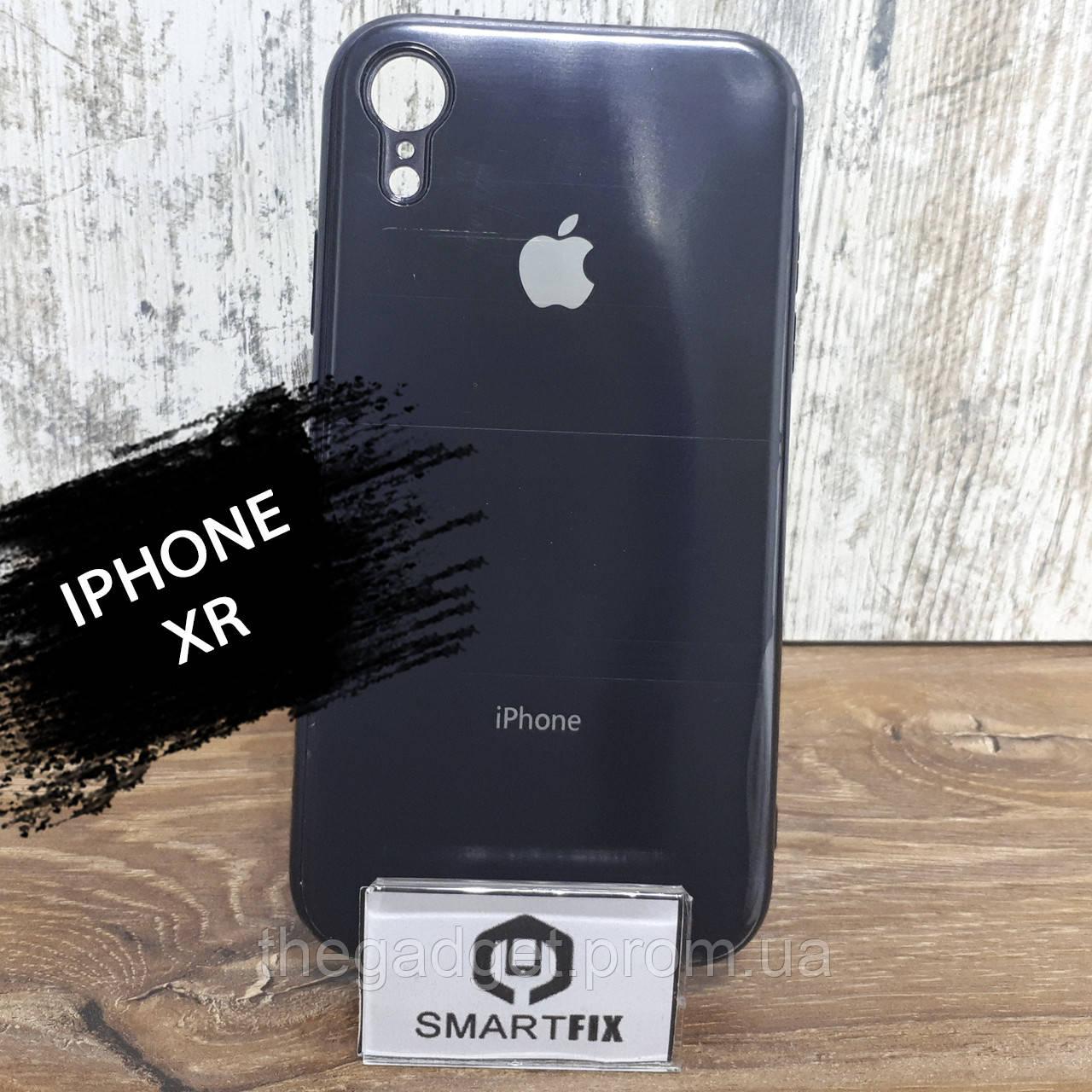 Силиконовый чехол для iPhone XR Glossy Logo Black