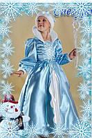 Детский карнавальный костюм Снегурочки Код 126