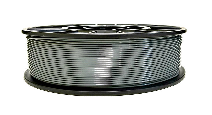 Нить PETG (CoPET, ПЕТГ) пластик для 3D печати, Серый (1.75 мм/1 кг), фото 2