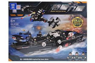 """Конструктор """"Полицейский корабль"""" 1224дет QL0122"""