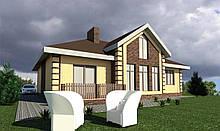 Готовый проект жилого дома К31