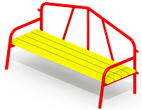 Скамейка для детской площадки KB-D83