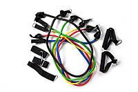 Набор эспандеров для фитнеса Power Bends (5 рез.жгутов)